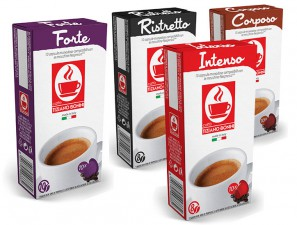 Compatible Coffee Capsules for the system Nespresso Caffè Bonini Cb-NSP-bundlecaffeintensi