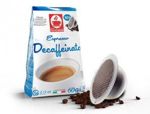 Compatible Coffee Capsules for the system Bialetti Mokespresso Caffè Bonini Decaffeinated