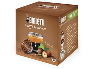 Capsule Original Drinks for the system Bialetti Mokespresso Bialetti Hazelnut