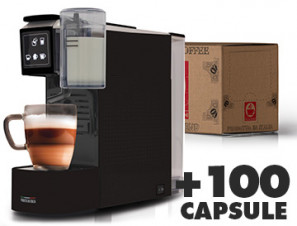 Coffee machines Caffè Bonini Tea & milk machine + 100 Capsules