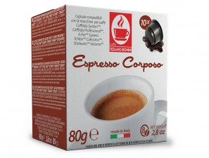 Compatible Coffee Capsules for the system K-Fee System  Caffè Bonini Corposo