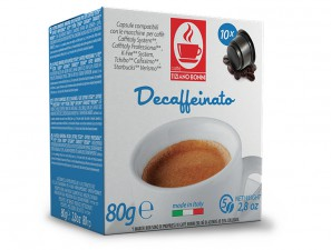 Compatible Coffee Capsules for the system K-Fee System  Caffè Bonini Decaffeinato