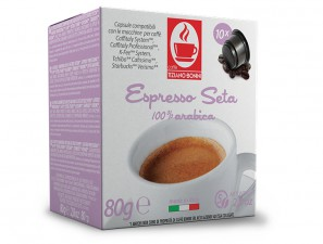 Compatible Coffee Capsules for the system K-Fee System  Caffè Bonini Seta