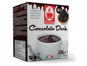 Capsule Compatible Drinks for the system Dolce Gusto Caffè Bonini Cioccolato Dark Box