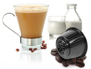 Capsule Compatible Drinks for the system Dolce Gusto Caffè Bonini Cortado Deca
