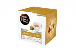 Original Coffee Capsules for the system Dolce Gusto Nescafè Espresso Milano