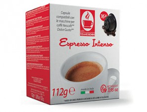 Compatible Coffee Capsules for the system Dolce Gusto Caffè Bonini Intenso