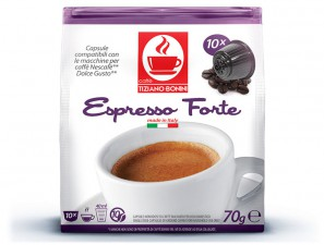 Compatible Coffee Capsules for the system Dolce Gusto Caffè Bonini Forte