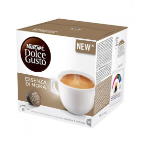 Original Coffee Capsules for the system Dolce Gusto Nescafè Essenza Di Moka