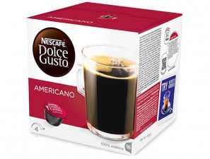 Original Coffee Capsules for the system Dolce Gusto Nescafè Americano