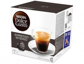 Original Coffee Capsules for the system Dolce Gusto Nescafè Espresso Intenso