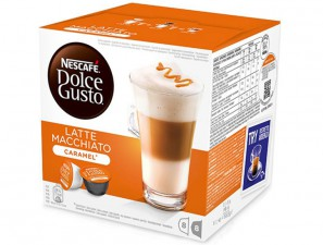 Capsule Original Drinks for the system Dolce Gusto Nescafè Latte Macchiato Caramel