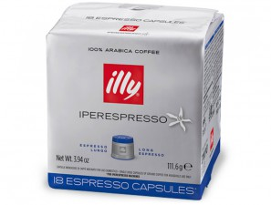 Original Coffee Capsules for the system Illy Iperespresso Illy Lungo