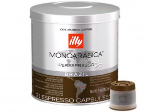 Capsule Coffee Original Монорабска Бразилия Illy Iperespresso