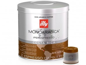 Original Coffee Capsules for the system Illy Iperespresso Illy Monoarabica Costa Rica