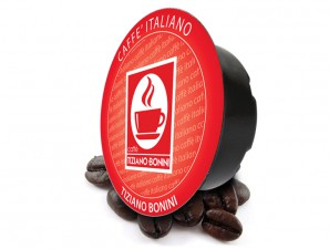Compatible Coffee Capsules for the system Lavazza a Modo Mio Caffè Bonini Intenso