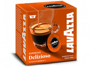 Original Coffee Capsules for the system Lavazza a Modo Mio Lavazza Delizioso
