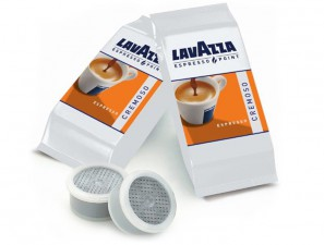 Original Coffee Capsules for the system Lavazza Espresso Point Lavazza Cremoso