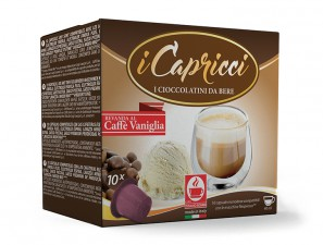 Capsule Compatible Drinks for the system Nespresso Caffè Bonini Capricci Caffè Vaniglia