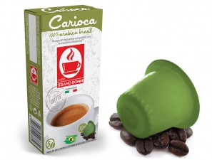 Compatible Coffee Capsules for the system Nespresso Caffè Bonini Carioca