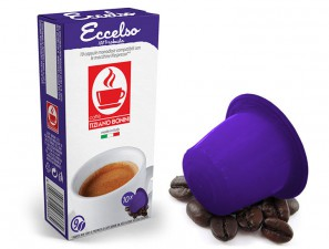Compatible Coffee Capsules for the system Nespresso Caffè Bonini Exalted