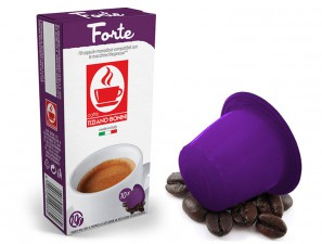 Compatible Coffee Capsules for the system Nespresso Caffè Bonini Forte