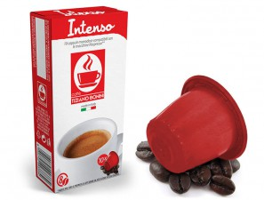 Compatible Coffee Capsules for the system Nespresso Caffè Bonini Intense