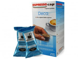 Original Coffee Capsules for the system Espresso Cap Termozeta Termozeta Decaffeinato