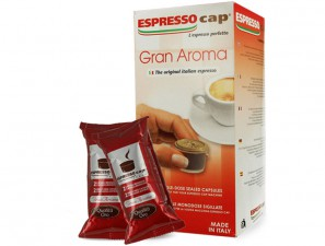 Original Coffee Capsules for the system Espresso Cap Termozeta Termozeta Gran Aroma