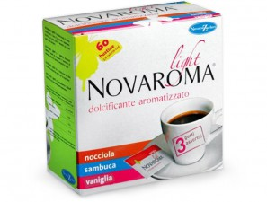 Novaroma Light flavored Novaroma sugar